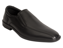 Wizfort Lightweight Black Loafers, Classy Slip Ons for Men